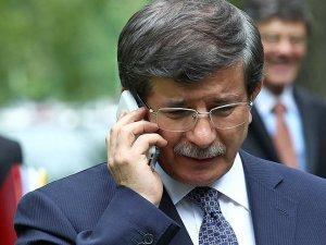 Davutoğlu'ndan Merkel'e taziye telefonu