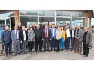 Görele Belediye Başkanı Erener, Basın Mensuplarıyla Yemekte Buluştu