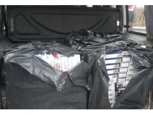 5 bin 270 paket kaçak sigara ele geçirildi