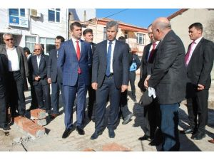 Çanakkale Valisi Erkal Bayramiç'te