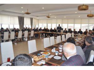 Muş Ekonomi ve Kalkınma Platformu istişare toplantısı yapıldı