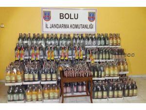 Jandarma'dan Kaçak Şarap Operasyonu