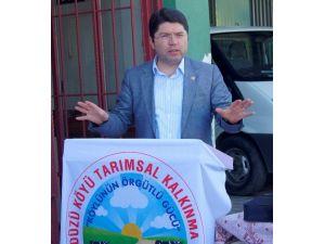 """AK Parti Milletvekili Tunç: """"Tarıma Desteğimiz Devam Edecek"""""""