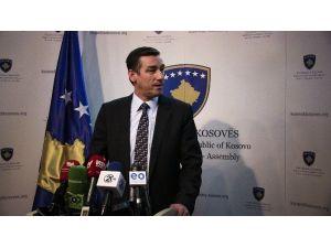 Kosova Meclis Başkanı Veseli'den TBMM Başkanına Taziye Mesajı