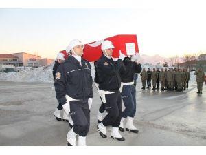 Şırnak'ta Şehit Polis İçin Tören Düzenlendi