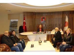 Nevşehir Rehberler Odasından Rektör Kılıç'a Ziyaret