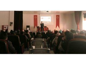 Horasan'da Yazarlar Söyleşi Yaptı