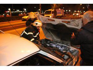 Aracı yanan sürücü: Arkadaşım dalga geçiyor zannettim