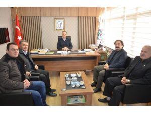 CHP'den Başkan Üçok'a Teşekkür Ziyareti