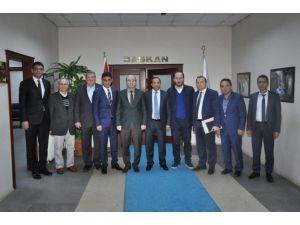 AK Parti İl Başkanı Ceyhan'dan Başkan Toltar'a Teşekkür Ziyareti