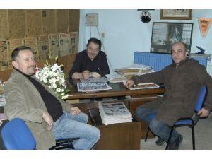 Kızılay Malkara İlçe Yönetiminden Yerel Basına Ziyaret