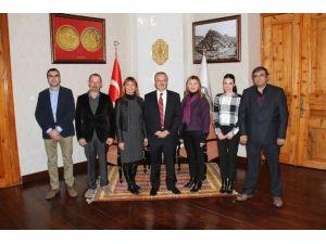 Tanap Heyeti'nden Kars Valisi Özdemir'e Ziyaret!
