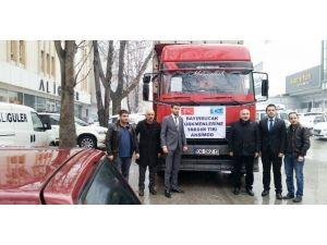 Siteler Esnafından Bayırbucak Türkmenleri'ne Yardım