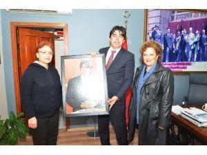 Başkan Demirağ'a Teşekkür Ziyareti