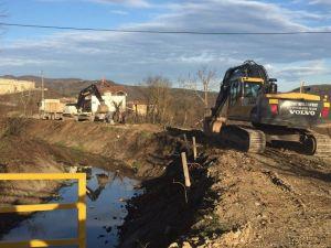 Konuralp'de Kanalizasyon Ana Şebeke Tamamlanıyor