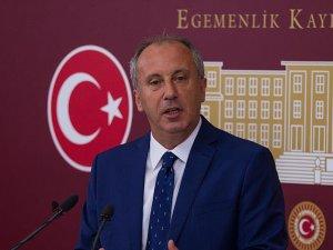 Muharrem İnce, CHP Genel Başkanlığına aday olmayacağını açıkladı