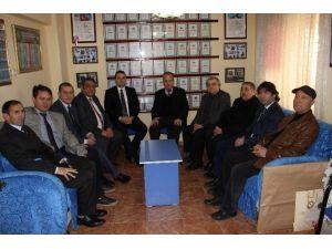Demokrat Gazeteciler'den Taydaş'a Ziyaret