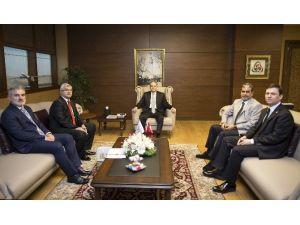 Bakan Kılıç, AK Parti Milletvekillerini Kabul Etti