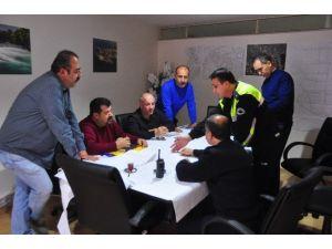Büyükşehir Koordinatörlüğünden Trafik Büro Amirliği İle İstişare Toplantısı