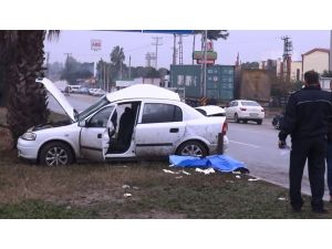 Kayganlaşan yolda takla atan araçtaki anne ile oğlu öldü