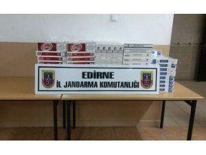 Edirne'de 5 Bin 470 Paket Kaçak Sigara Ele Geçirildi