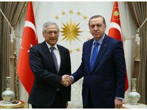 Cumhurbaşkanı Erdoğan, Şili Dışişleri Bakanı Munoz'u Kabul Etti