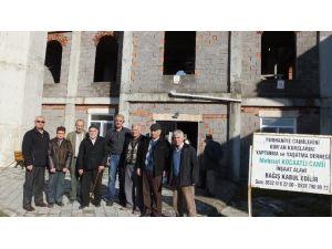 Burhaniye'de Cami İnşaatı Yardım Bekliyor
