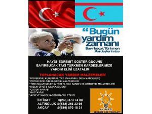 Balıkesir AK Parti'den Bayırbucak Türkmenlerine Yardım Kampanyası