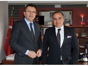 Arnavutluk Büyükelçisinden Anlamlı Ziyaret