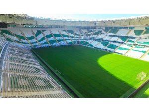 Bursaspor İkinci Yarıya Timsah Arena'da Başlayacak