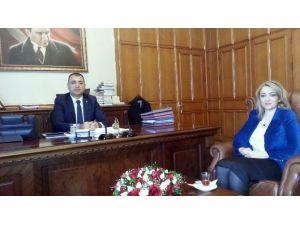 Sankon Başkanı Atasoy İzmir Valiliğini Ziyaret Etti