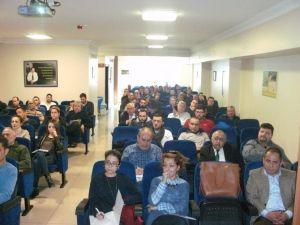 Burhaniye'de KOSGEB Bilgilendirme Toplantısı Yapıldı
