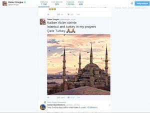 Drogba: İstanbul ve Türkiye dualarımda
