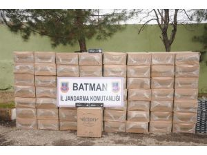 Batman'da 101 Bin Paket Kaçak Sigara Ele Geçirildi
