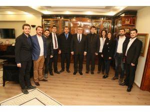 CHP Gençlik Kollarından Başkan Kesimoğlu'na Ziyaret
