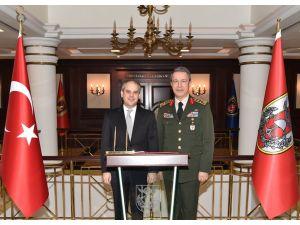 Bakan Kılıç'tan Genelkurmay Başkanı'na ziyaret