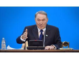 Nazarbayev'den taziye mesajı