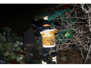Kaza Yapan Kamyon Sürücüsü, Gözyaşlarını Tutamadı
