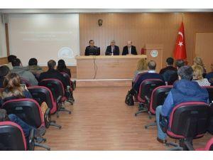 Aydın'da Tarım Danışmanları Bilgilendirildi