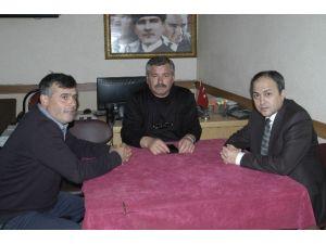 Malkara Kaymakamı Osman Altın'dan Muhtarlar Derneği'ne Ziyaret