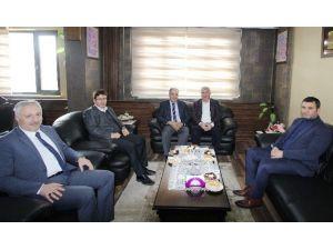 Milletvekili Yeneroğlu'ndan Başkan Memiş'e Ziyaret