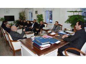 İlim Yayma Cemiyeti'nden Kaymakam Erkan'a Ziyaret