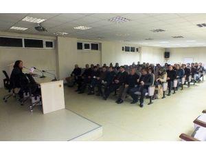 """Tatvan'da """"İş Sağlığı Ve Güvenliği E-sertifika"""" Toplantısı"""