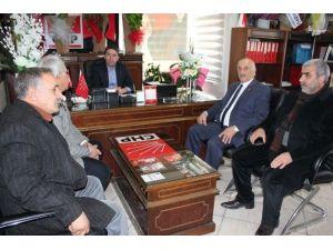 Kaysı Kent Muhtarlar Derneğinden CHP'ye Ziyaret