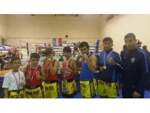 Serik Belediye Muaythai Sporcuların Başarısı