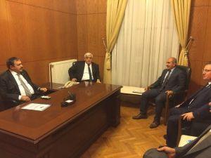 Başkan Kara, Bakan Eroğlu Ve Milletvekilleri İle İle Görüştü
