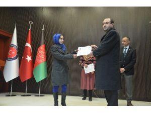 Afganistan'da Öğretmenlere Yönelik İkinci Grup Meslek İçi Eğitim Programı Tamamlandı