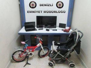Denizli'de Hırsızlığa 3 Tutuklama