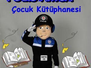 """Bartın'da """"Polis Amca Kütüphanesi"""" Kurulacak"""