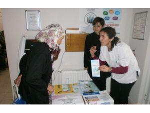 Burhaniye'de Kadınlara Sağlık Taraması